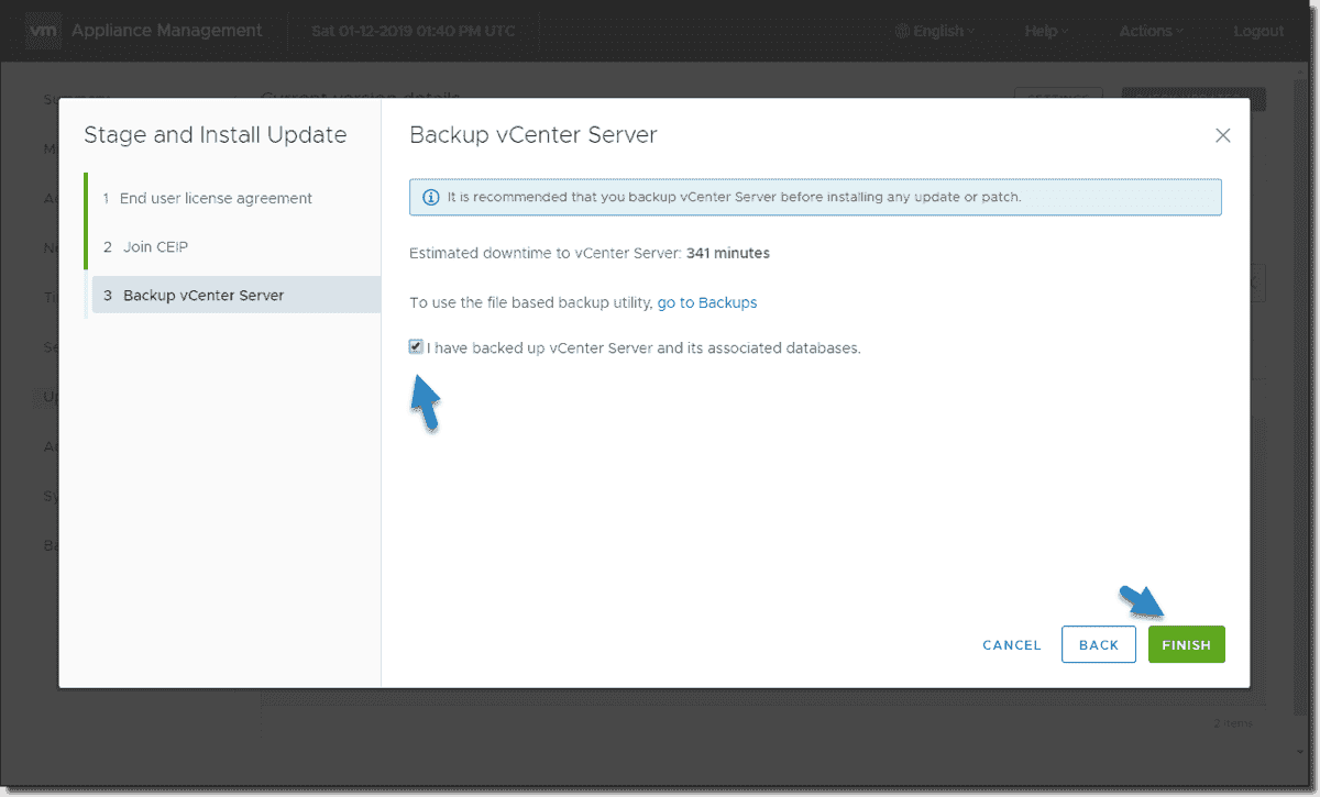 Three ways to update VMware vCenter Server Appliance (VCSA) – 4sysops