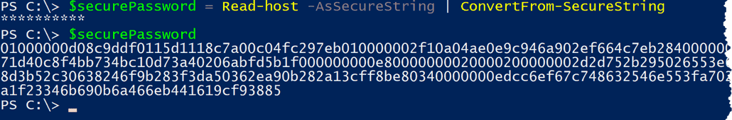 Encrypt a password with PowerShell – 4sysops