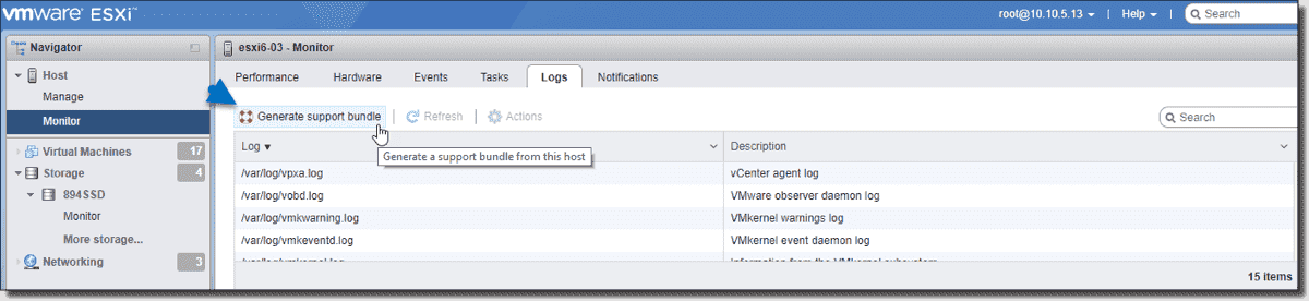 Most important VMware log files – 4sysops