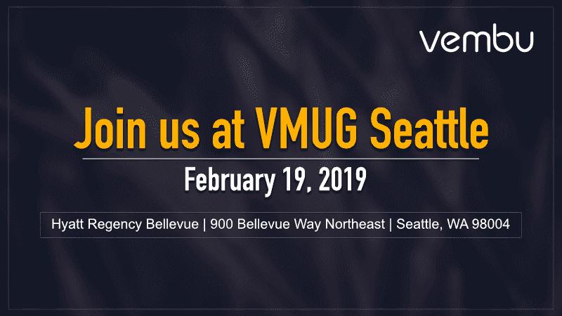 Vembu at VMUG USERCON - vembu.com