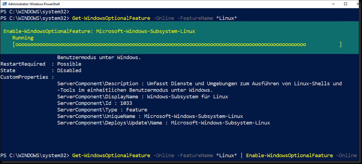 Install Subsystem for Linux in Windows 10 LTSC and Server 2019 – 4sysops