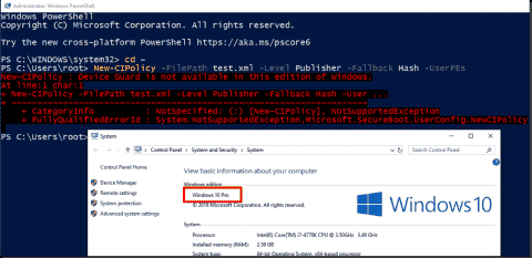 Application whitelisting: Software Restriction Policies vs. AppLocker vs. Windows Defender Application Control