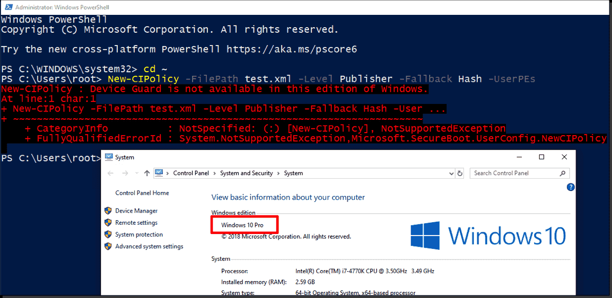 Application whitelisting: Software Restriction Policies vs. AppLocker vs. Windows Defender Application Control