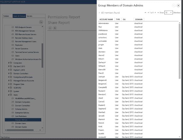FolderSecurityViewer AD Browser