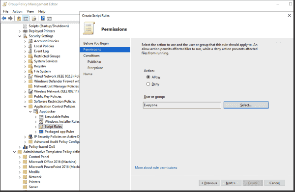 You can assign AppLocker rules to specific user groups