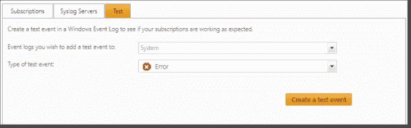 Configure test