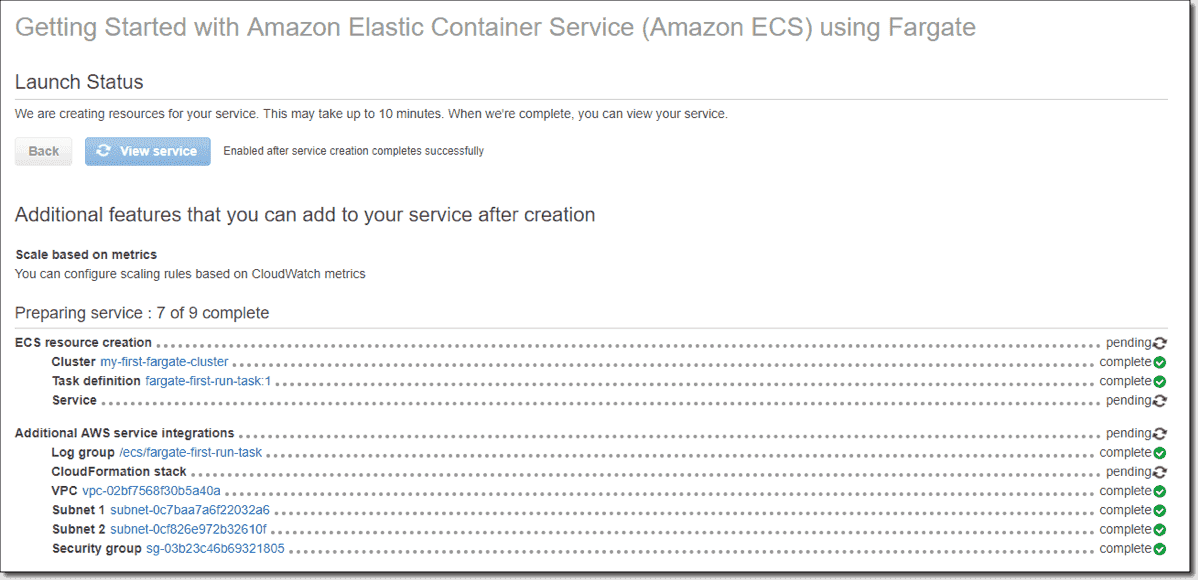 How to create a container in AWS Fargate – 4sysops