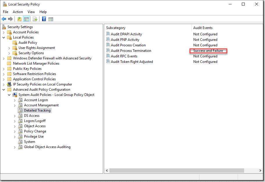 Forward Windows events to a Syslog server with free