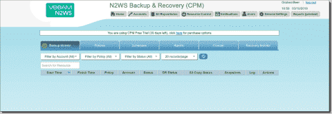 N2WS Backup & Recovery for AWS
