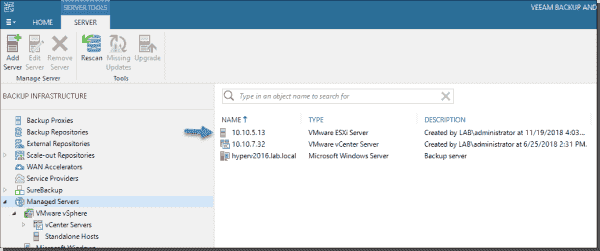 Register at least one standalone ESXi host