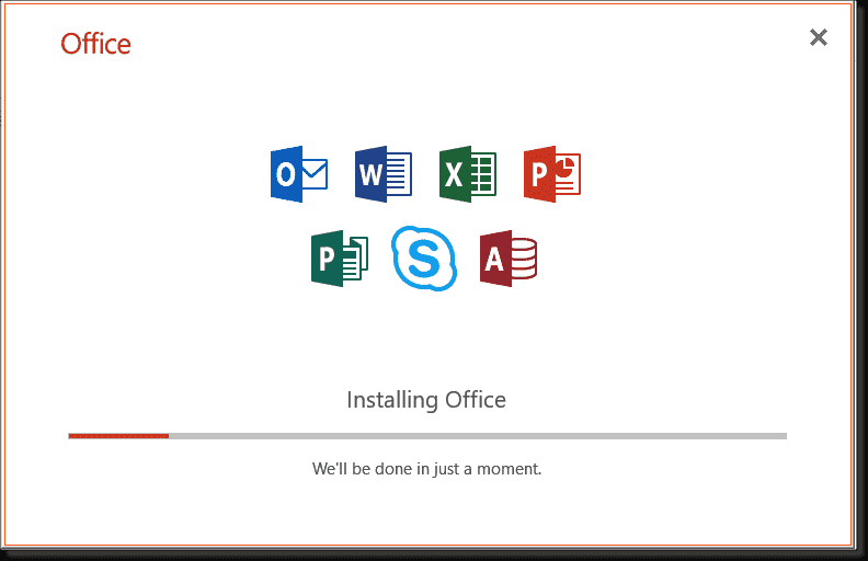 Install only selected Office applications using the Office