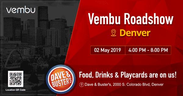 Vembu Roadshow Denver - vembu.com