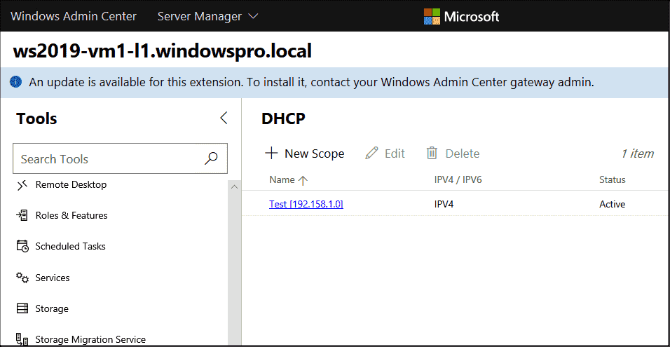 Managing Active Directory, DNS and DHCP with Windows Admin