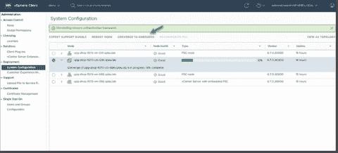 vCenter Server 6.7 U2 architecture improvements