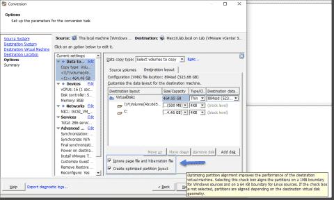 Top tips for using VMware vCenter Converter