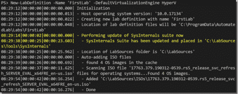 Set up a Hyper-V home lab with the AutomatedLab PowerShell module