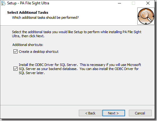 ODBC driver option