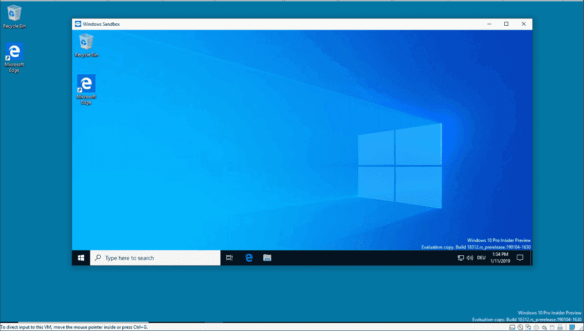 Windows 10 1903: The most significant new features for professional