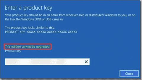 Convert Windows Server 2019 Evaluation to the retail edition