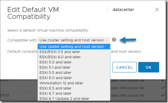 What's new in VMware virtual hardware 15 and vSphere 6.7 U2