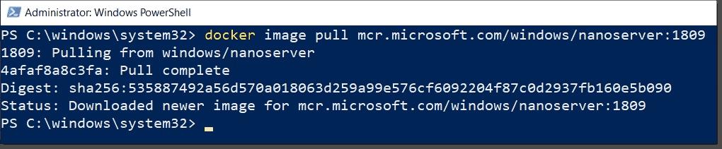 Install Docker on Windows Server 2019 – 4sysops