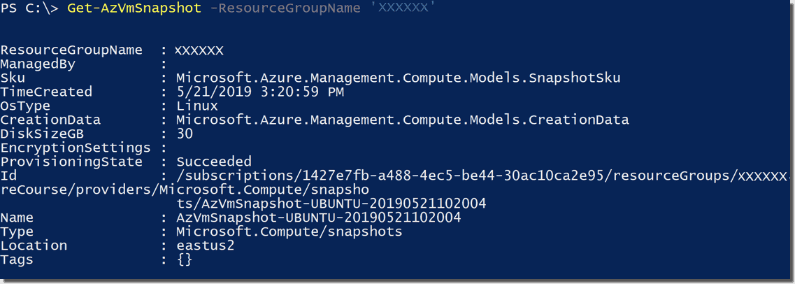 Create and restore Azure virtual machine snapshots