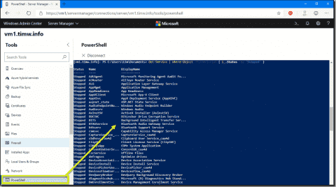 Use Windows Admin Center with PowerShell