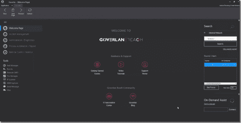 Goverlan: An on-premises remote support software for IT Management
