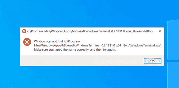 You must install Windows Terminal separately for each user, or you might not be able to run it as administrator