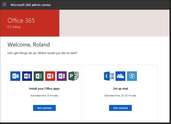 Setup for Office 365