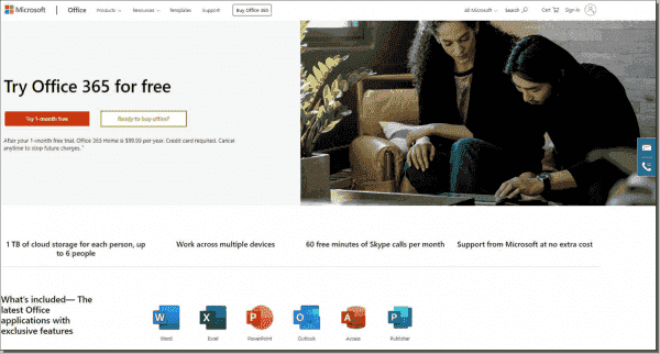 To test Office 365, you can sign up for a free 30 day account