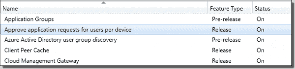 Enable application approval per device