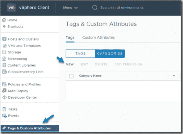 Tags and custom attributes