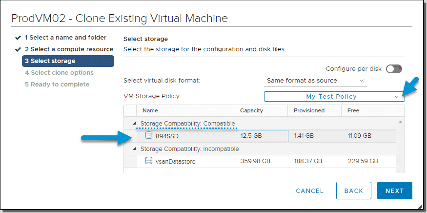 How to use VMware Storage Policy-Based Management