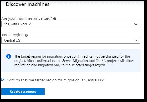 Azure Migrate Discover machines