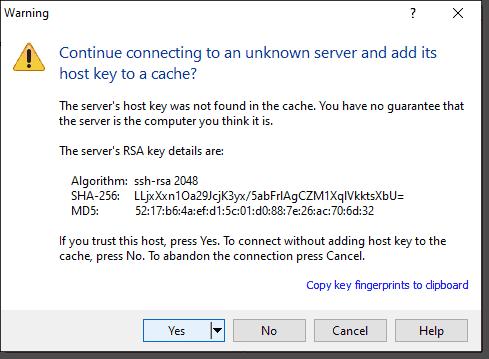 RSA key details