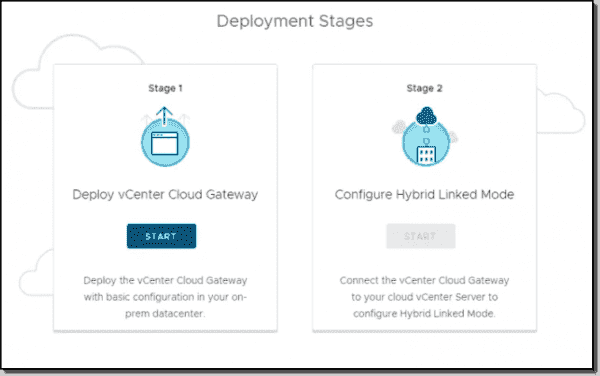 Deploy vCenter Cloud Gateway