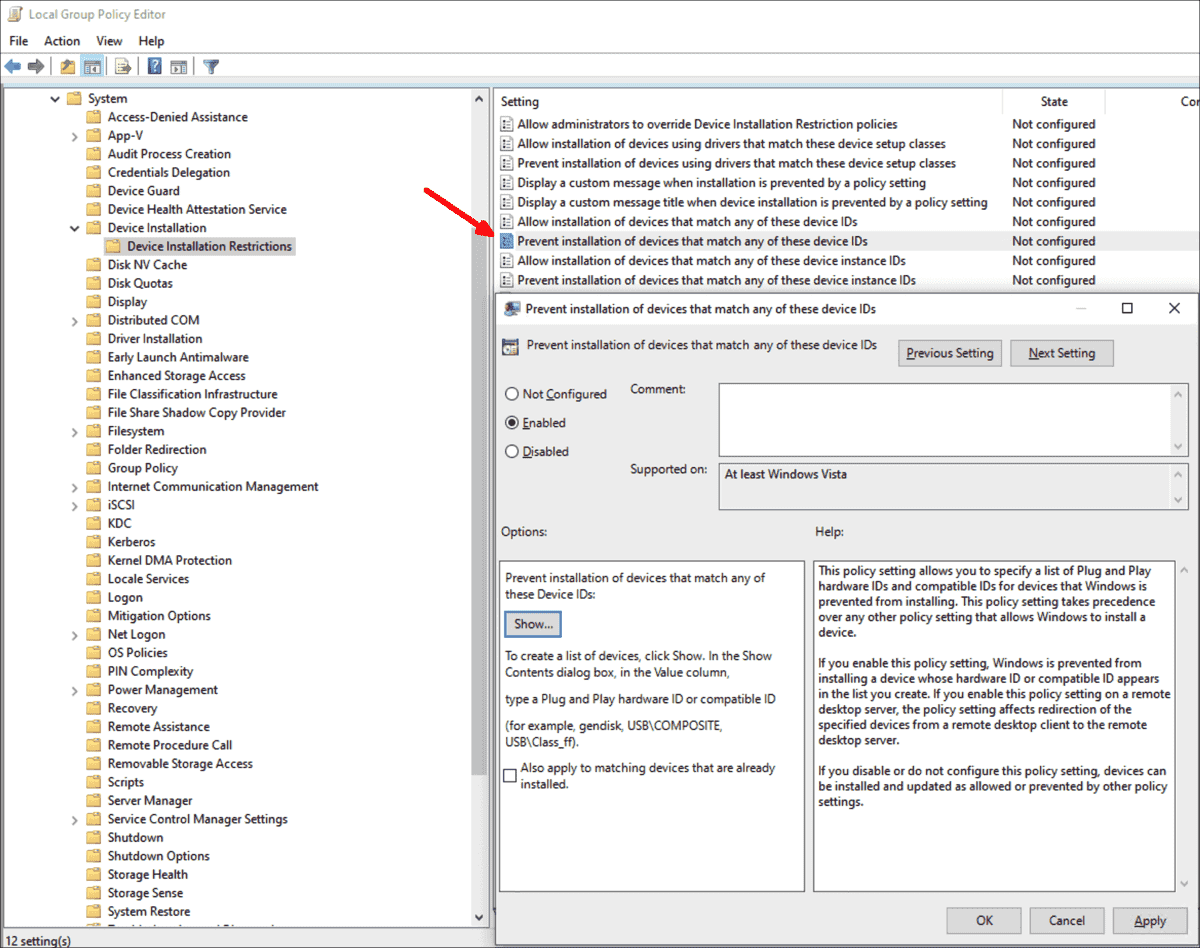 Group Policies in Windows 10 1909: ADMX download, three new GPO settings