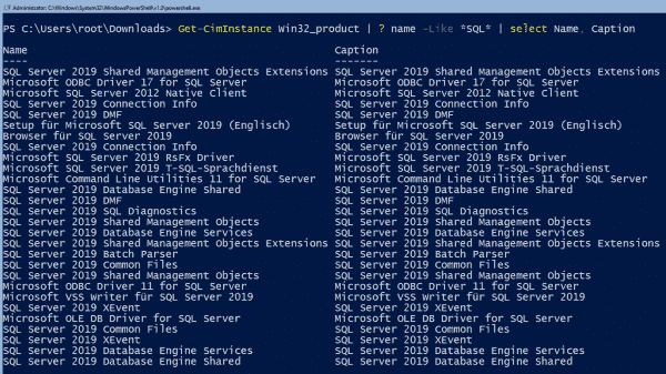 Subsequent verification of SQL Server installation with PowerShell