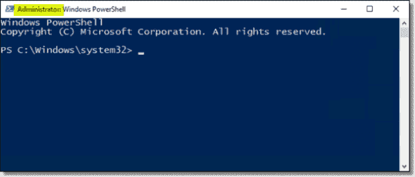 PowerShell Administrator prompt is launched for a non admin user using Securden