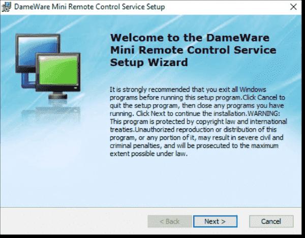 Mini Remote Control Service