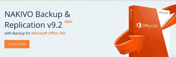 NAKIVO Backup & Replication v9.2 new features (image courtesy of NAKIVO)