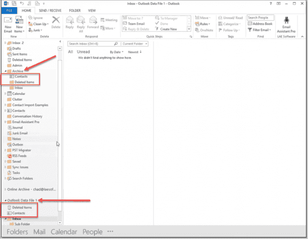 Running the PST Migrator tool to migrate email from PST files to your Office 365 inbox