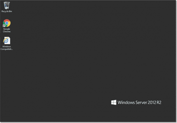 Windows Server in place upgrade to Windows Server 2012 R2 is successful