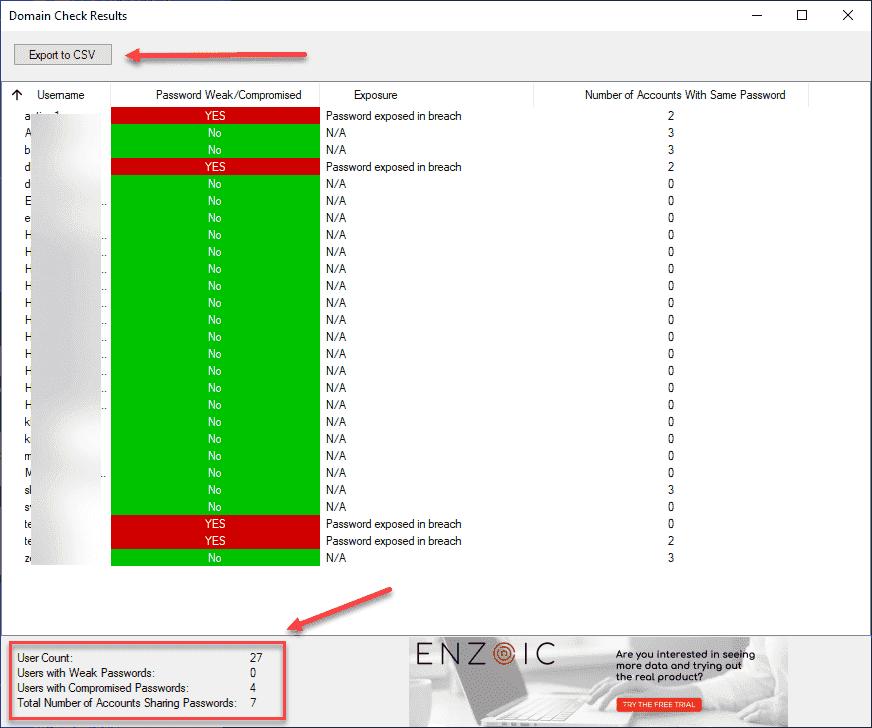 Enzoic for Active Directory Lite: Find weak passwords in Active Directory