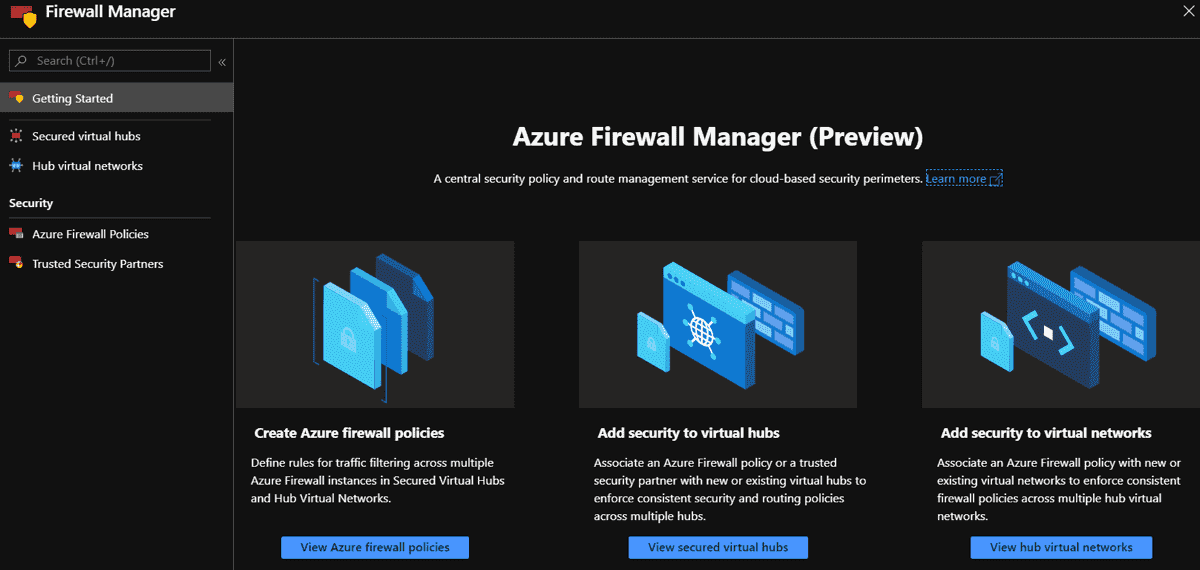 Introduction to Azure Firewall Manager