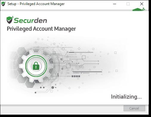 Installing Securden PAM