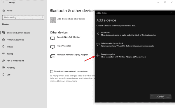 Windows 10 2004 automatically searches for compatible cameras on the network
