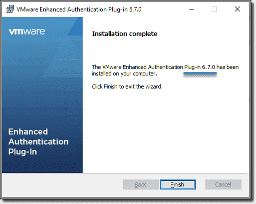 VMware Enhanced Authentication Plug-in—Why do we still need it with vSphere 7.0?
