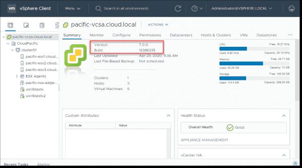 NAKIVO Backup & Replication v10 now supports VMware vSphere 7